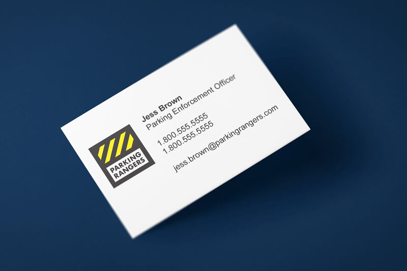 Parking Rangers Business Card